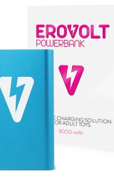 Powerbank - EroVolt PowerBank Blue