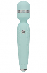 Masażer - Pillow Talk Cheeky Wand Massager Teal
