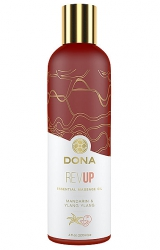 Olejek do masażu - Dona Essential Massage Oil Rev Up Mandarin & Ylang Ylang 120 ml