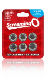 Baterie - The Screaming O Size AG-13 Batteries