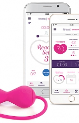 Kulki gejszy - Lovelife by OhMiBod Krush App Connected Bluetooth Kegel