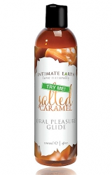 Tester - Intimate Earth Oral Pleasure Glide Salted Caramel 120 ml Tester