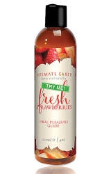 Tester - Intimate Earth Oral Pleasure Glide Fresh Strawberry 120 ml Tester