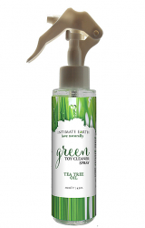 Spray czyszczący akcesoria - Intimate Earth Green Tea Toycleaner Spray 125 ml